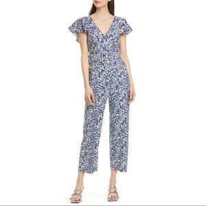 NWT Tanya Taylor Avalon Belted Crop Jumpsuit Sz 2